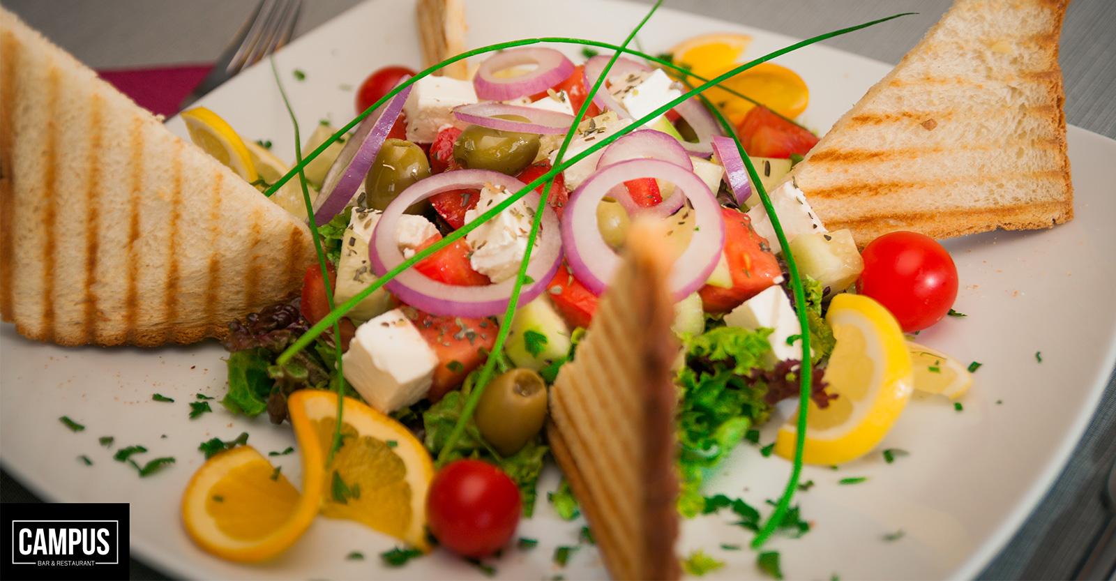 Grčka Obrok Salata